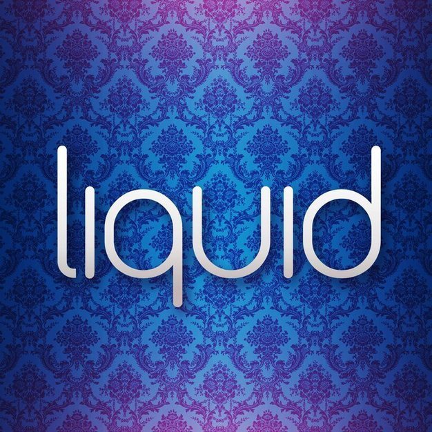 Liquid lounge wedding