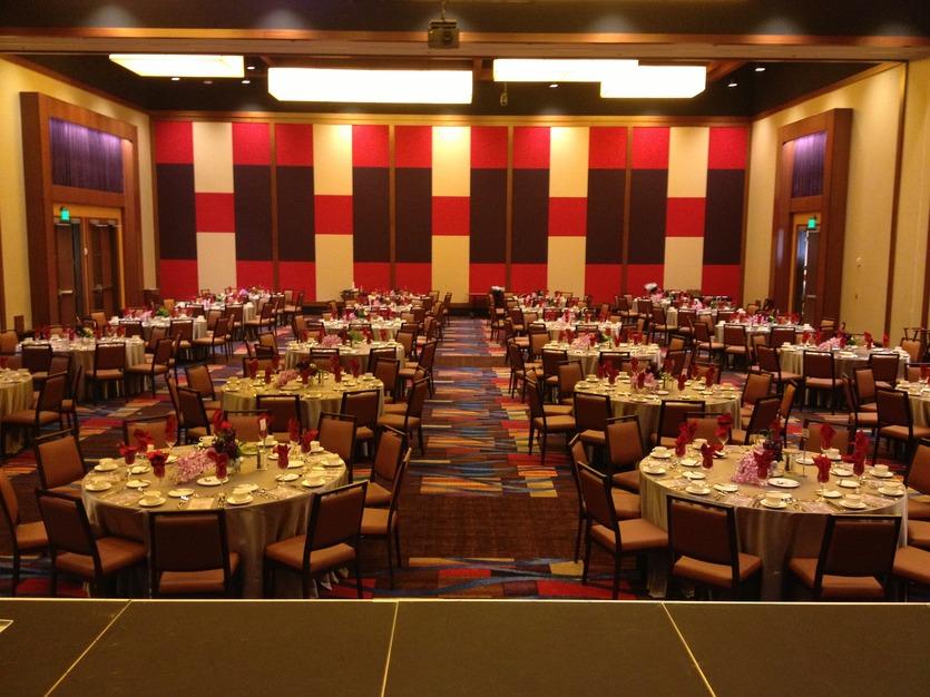 Vee Quiva Hotel and Casino  Best Wedding Reception
