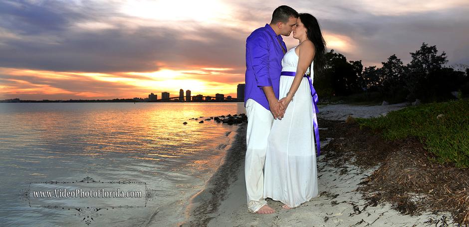 Florida mall wedding