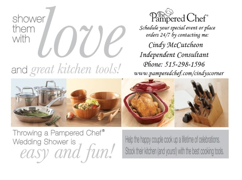 custom invites favors in des moines independent consultant for the pampered chef bridal
