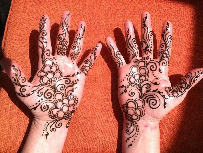 a research on the purposes of the body art of henna