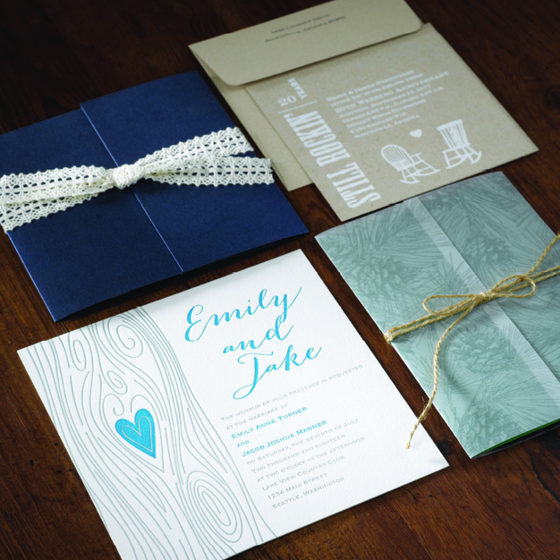 Custom Invites / Favors in Christiansburg - Green-Eyed Designs