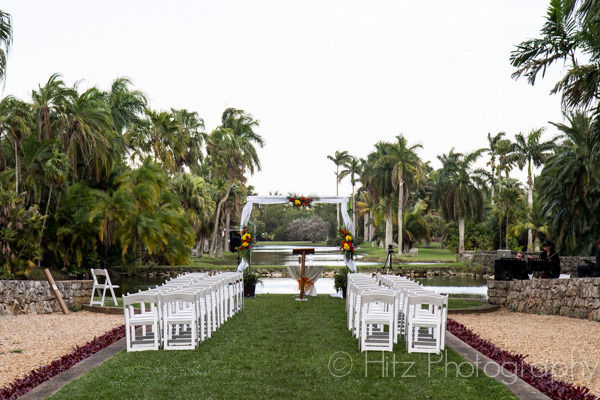 Reception Location In Miami   Fairchild Tropical Botanic Garden