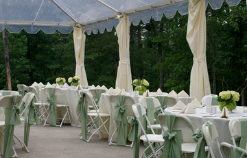 Table, Banquet, Glass, Glasses, Bouquet, Tablecloth, Chairs, Wedding Dinner