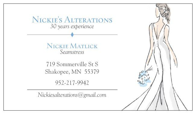 Dress & Apparel in Shakopee - Nickie's Alterations
