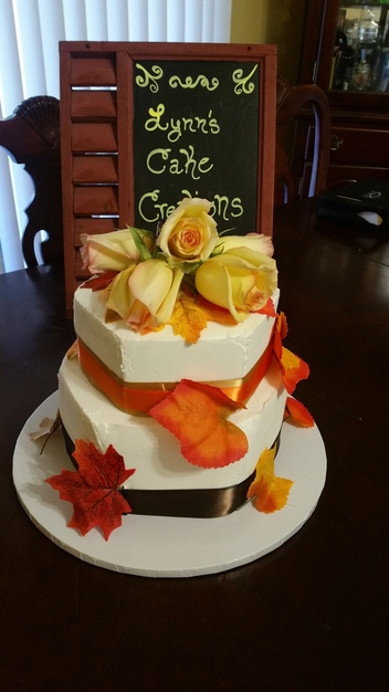Cake in San Antonio - Lynn's Creations - Touched by an Angel