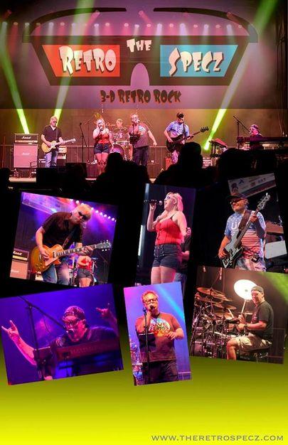 Musicians in Arena - The Retro Specz