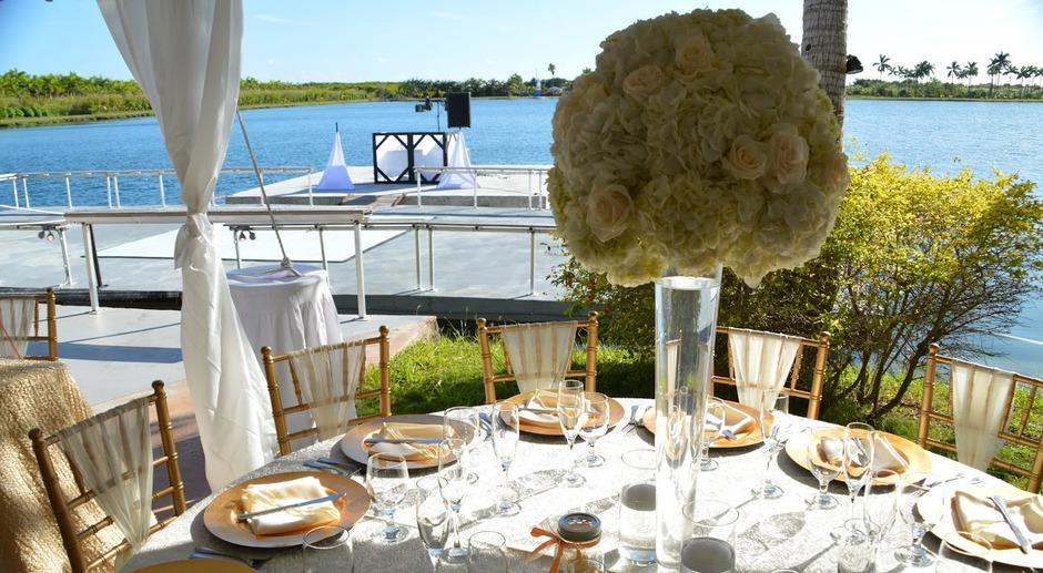Royal Palm Island Best Wedding Reception Location In Miami