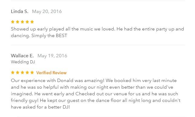 DJ in Henderson - Donald Rogers. Presents