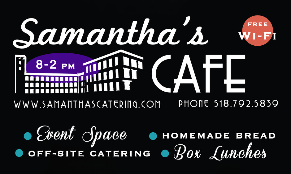 Caterers in Glens Falls - Samantha's Cafe & Catering