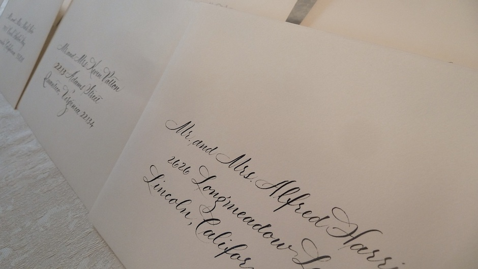 Custom Invites / Favors in Floyds Knobs - Jan Hurst Calligraphy & Design