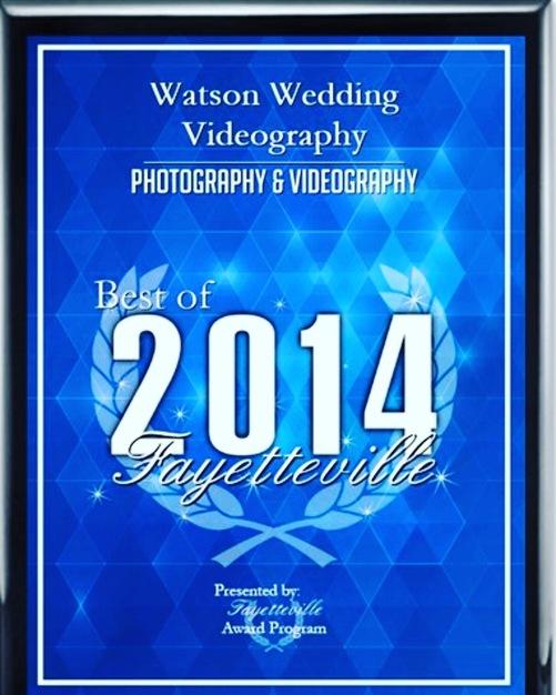 Videographers in Fayetteville - Watson Wedding Videography