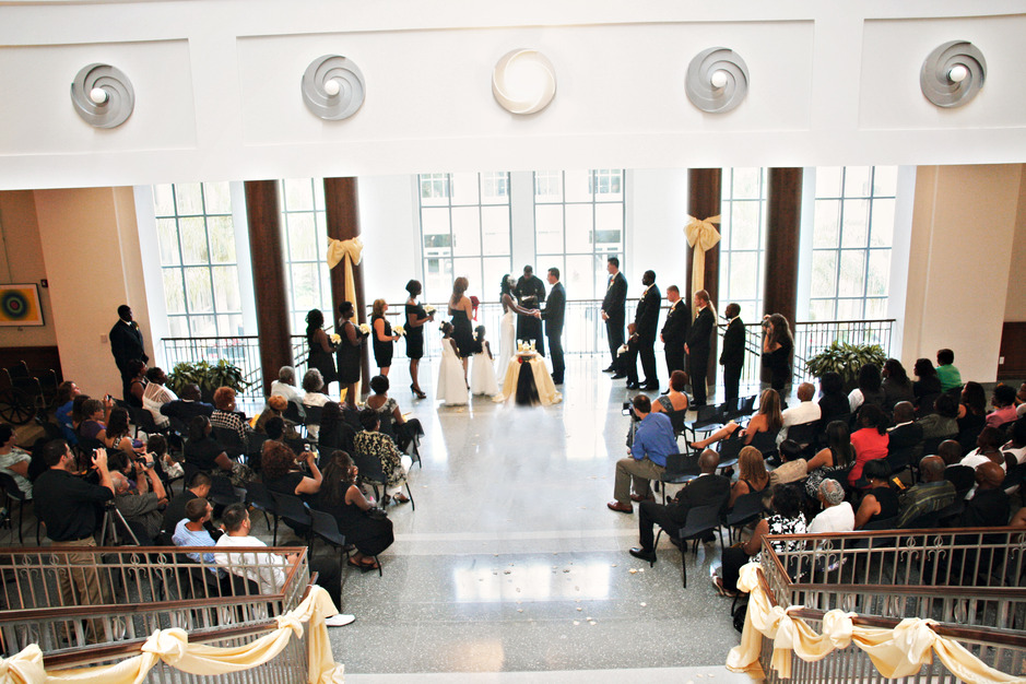 Main Library Conference Center Best Wedding Reception Location