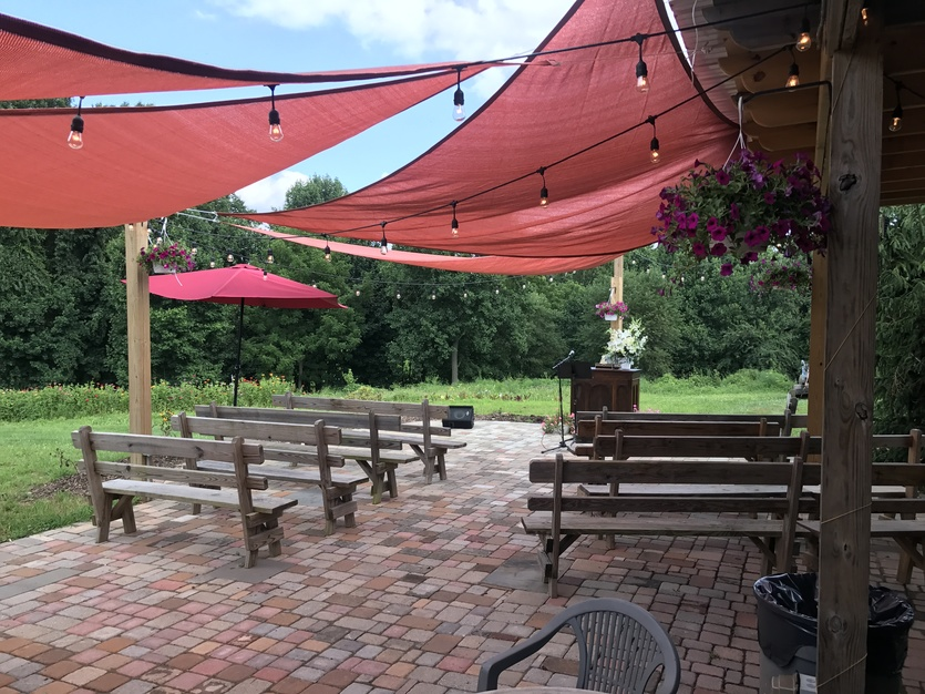 Reception Location in West Chester - Thornbury Farm events
