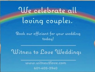 Officiants in Jackson - Witness to Love Weddings