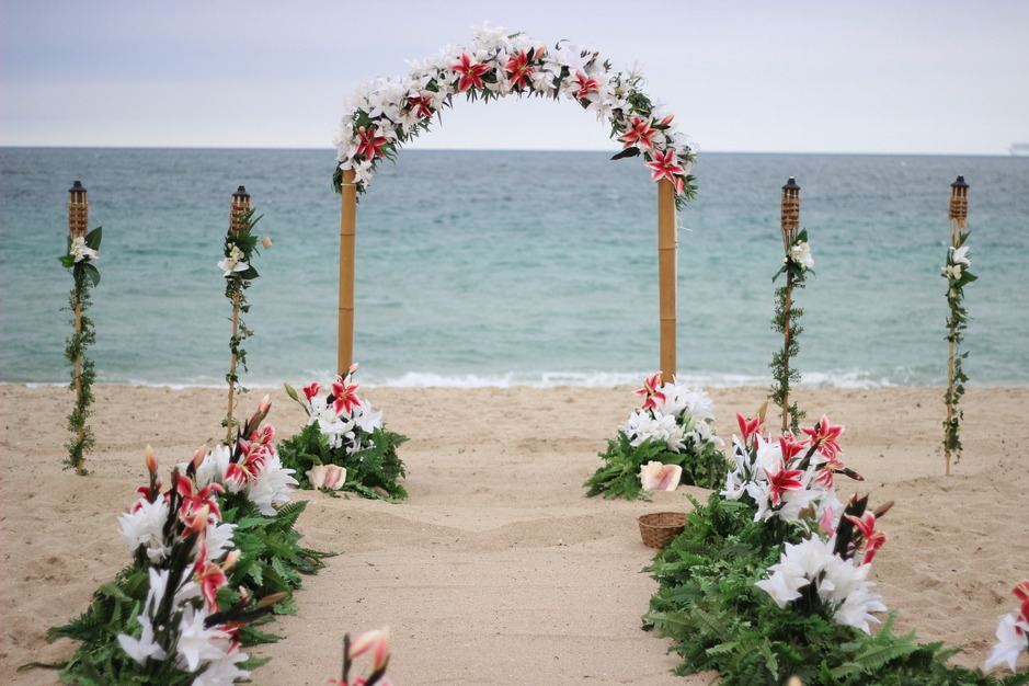 Mermaid Beach Weddings Inc Best Wedding Reception Location In Miami