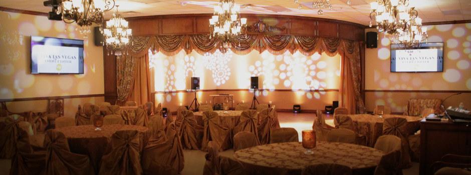 Reception Location in Las Vegas - Ron Decar's Event Center