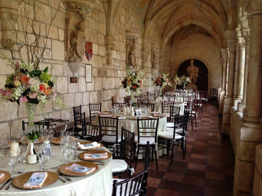 Spanish Monastery Best Wedding Reception Location In North Miami Beach