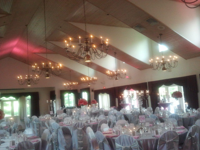 Wakefield country club wedding
