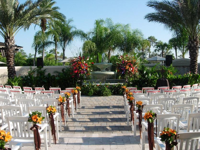 Saddlebrook resort best wedding reception location in for Saddelbrook