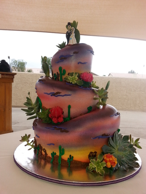 Bamboo Bakery Best Wedding Cake in Phoenix
