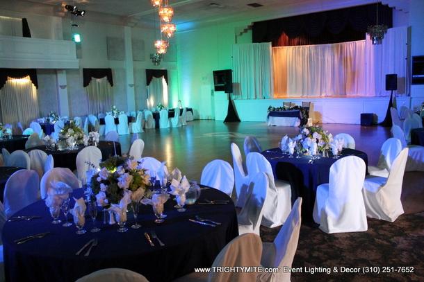 Event Lighting Decor Wedding Planner Los Angeles