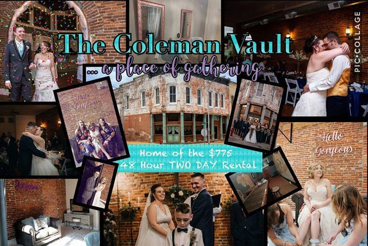 Reception Location in Marionville - The Coleman Vault