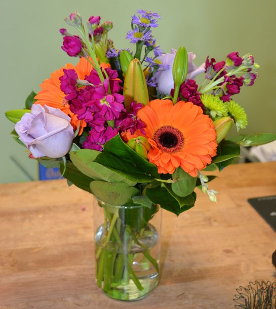Florists in Burlington - The Bloomin' Dragonfly