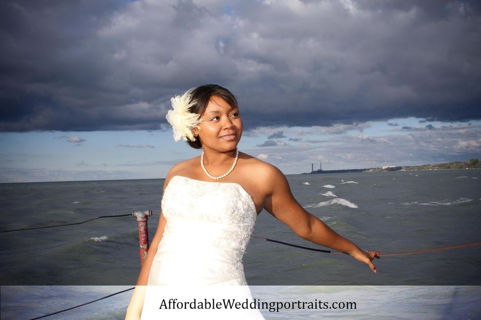 Photographers in Cleveland - Affordable Wedding Portraits