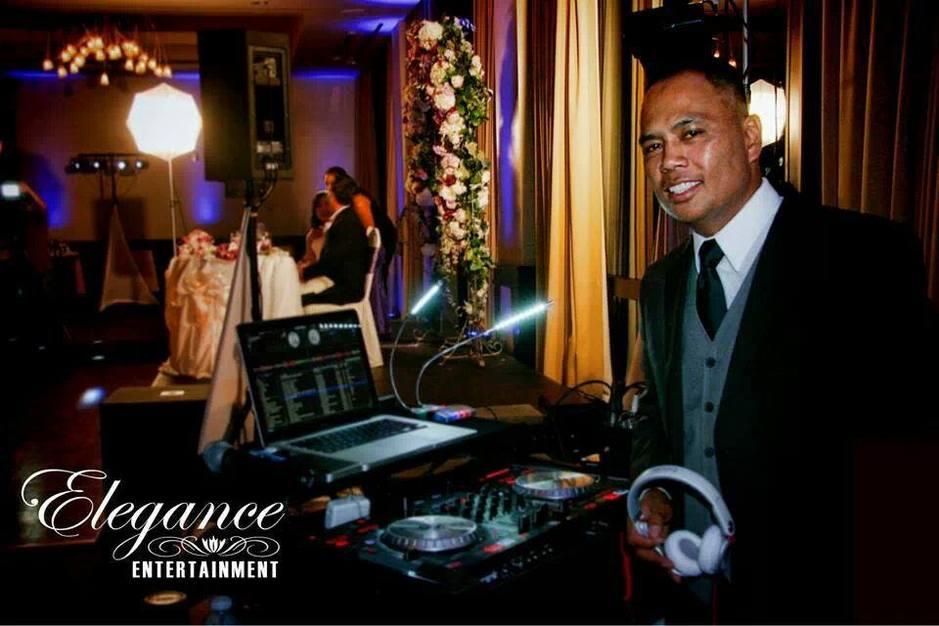 DJ in Corona - Elegance Entertainment