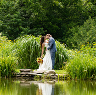Reception Location in East Meredith - Catskill Weddings at Natural Gardens