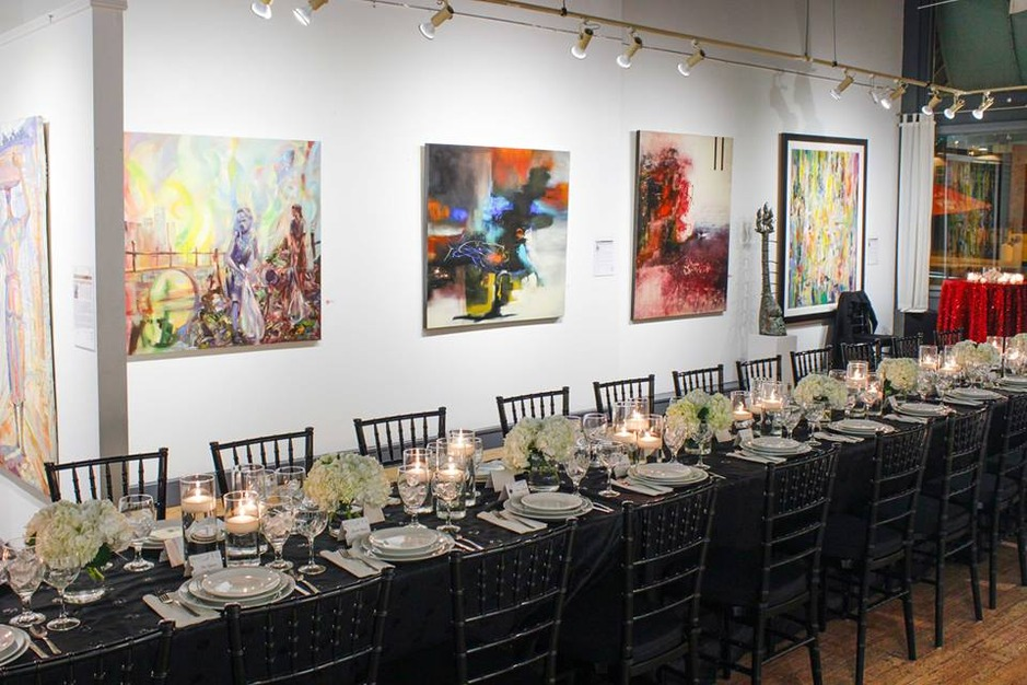 Art Village Gallery Best Wedding Reception Location Venue In Memphis