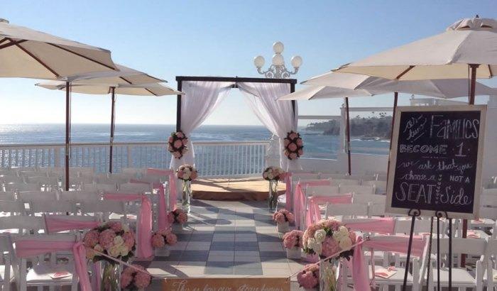 Cliffs at laguna village best wedding reception location for Laguna beach wedding venues