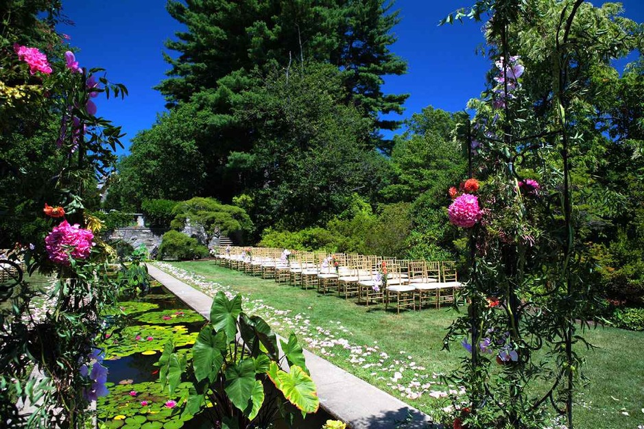 The Skylands Manor Castle At The Nj Botanical Gardens Best Wedding Reception Location Venue In