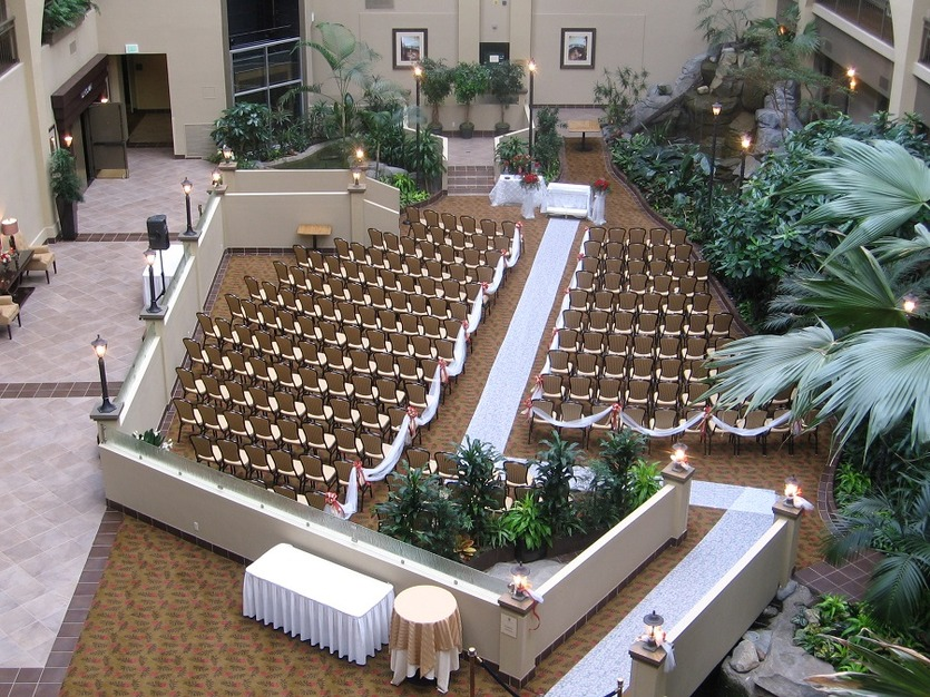 Embassy Suites Seattle Bellevue Hotel Best Wedding Reception