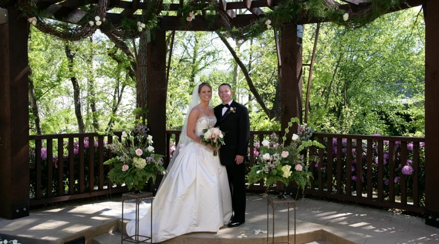 Wedding venues in pigeon forge tennessee