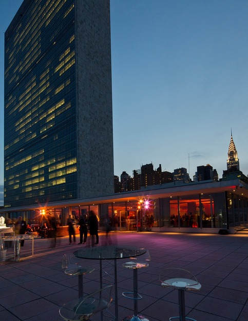 Best Wedding Reception Location Venue In New York   Delegates Dining Room  Of The United Nations Part 91