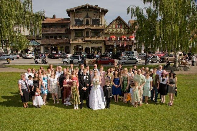 Icicle village resort best wedding reception location for Leavenworth wa wedding venues