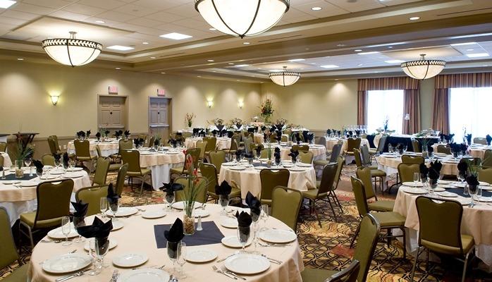 reception location venue - Hilton Garden Inn Vanderbilt