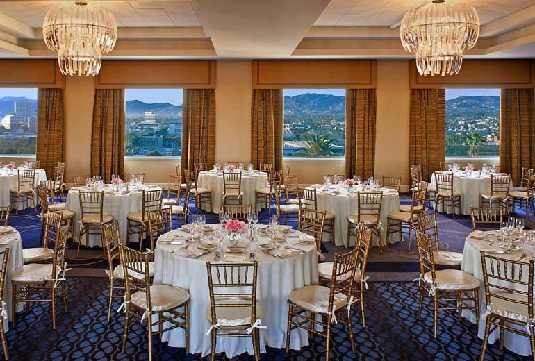 Le Meridien Delfina Santa Monica Best Wedding Reception Location