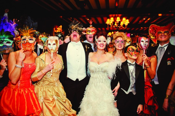 Combine Glamour And Intrigue With A Masquerade Wedding Theme
