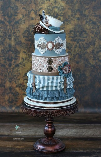 Travel to a Different World with a Steampunk Wedding - Madison ...