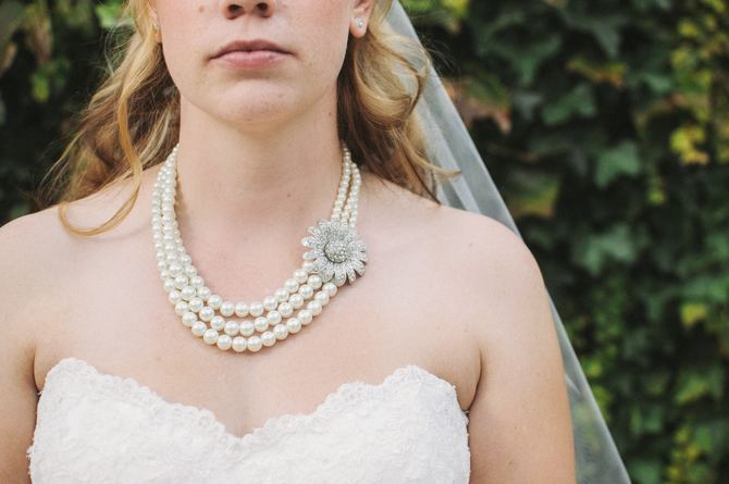 How Much Jewelry is Too Much on Your Wedding Day Brittany Brolley